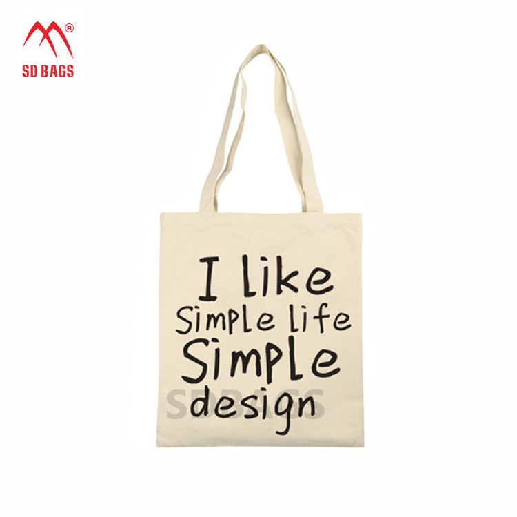 2017 High quality Fashionable styles promotional custom standard size organic cotton bag