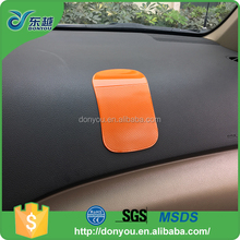PU anti-slip mat car accessories adhesive silicone pad