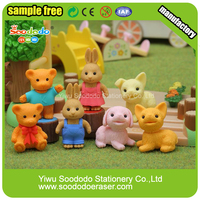 Wholesale Novelty 3D Shaped Eraser Preschool