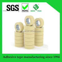 Hot Sale Heat-Resistant Masking Tape For Paint Decoration Masking Crepe Paper With Various colors