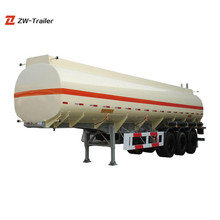 China Best Supplier 2 Axle 3 Axle Oil Tank Trailer and Fuel Tanker Truck Dimensions