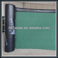 Polymer modified bitumen felt