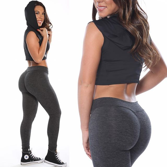 High Waist Women Gym Wear Booty Enhancer Scrunch Leggings
