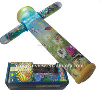 High Quality Promotional gift liquid kaleidoscope with LED light