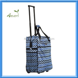 2015 Newest Polyester Trolley Suitcase Soft luggage Bag