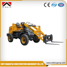 wheel loaders made in china(ZL10E 4WD Small Wheel loader with CE approved)