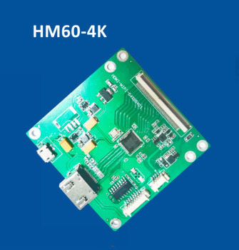 HM60-4K  2160x3840 HD LCD HDMI to MIPI DSI controller board with USB 5V power supply and Touch input