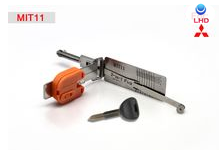 Lock opening tool for Smart MIT11 2 in 1 auto pick and decoder with light