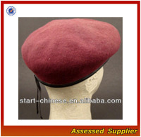 ZD304 ARMY SPECIAL FORCES MAROON MILITARY BERET/CUSTOM BERETS