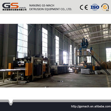 Co2 ethanol xps foam board production line new products on china market 2016