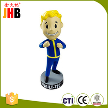 Custom Figurines Polyresin Vault Tec Pip Boy Bobble Head