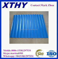 Building material 22 gauge zinc galvanized corrugated steel roofing sheets made in well-established and reliable manufacturer