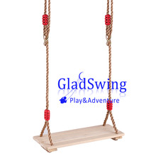GladSwing S202 Children 4pcs Wooden Swing outdoor hanging baby swing seat