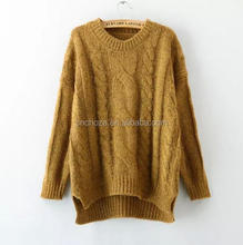 Z52528B Latest design women wear sweater womens fashion knitwear