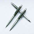High Quality Logo Priting Bright Chrome Promotion Pen,Metal Mechanical Pencil