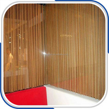 China Factory Price Metal Mesh Drapery Curtains for Hotel Room Dividers