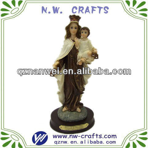 Resin jesus figurines decoration crafts
