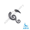 Fancy Body Jewellery Acrylic snail Fake Spiral Piercing