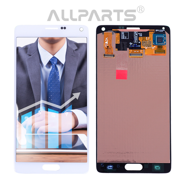 2560x1440 Replacement LCD screen complete for Samsung Galaxy Note 4 5.7 inch LCD screen mobile phone parts