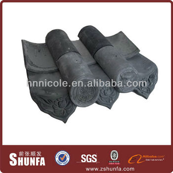 waterproof clay Chinese roof tiles like Chinese style buildings
