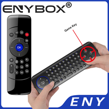 Two Side 2.4G Wireless Air Flymouse+Keyboard+Remote Controller For Mini Pc C2