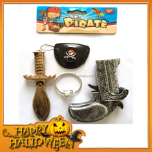 ZP411SL Interesting Halloween Decoration Baby Toy Cosplay Pirate Sword Musket