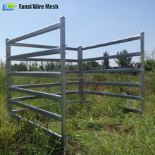 Cattle / Horse Panels , 6 Oval Rails 60 x 30, 40 x 40 Posts