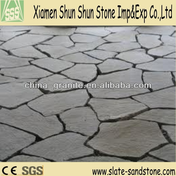 Natural cheap flagstone for paving, cladding