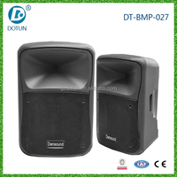 Bluetooth amplifier 8 inch portable speaker professional