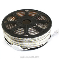 High lumen 220v ip67 50 meter led rope light with 3 years warranty
