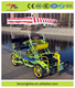 new design popular 4 wheel tandem bike/sightseeing bicycle surrey bicycle quadricycle for sale