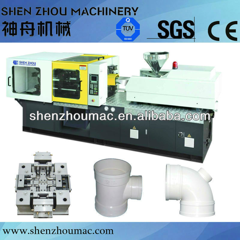 pvc fitting injection moulding machineinjection molding machine Multi screen for choice Imported world famous hydraulic componen