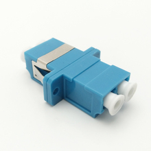 LC adapter singlemode duplex with flange IL<=0.2dB price optical fiber