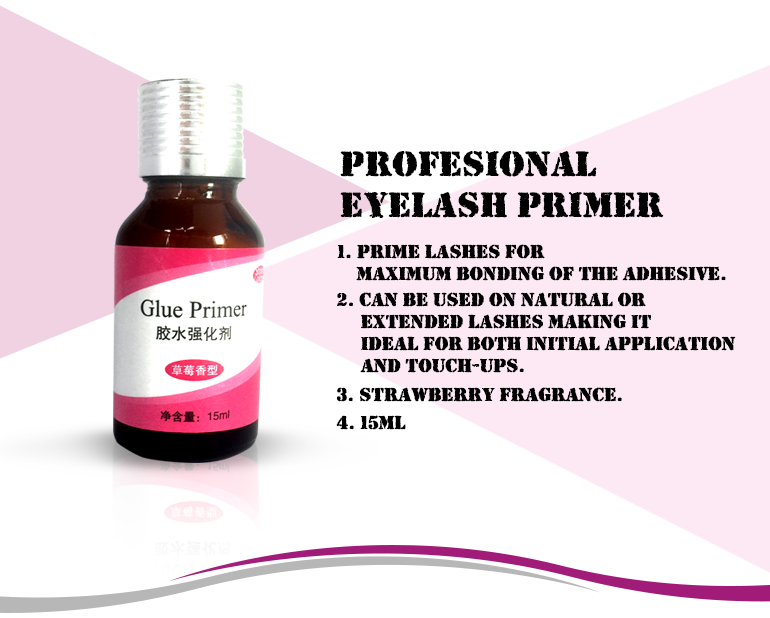 Maximum Bonding Of Glue Accetp OEM Eyelash Primer Korea Primer Eyelashes