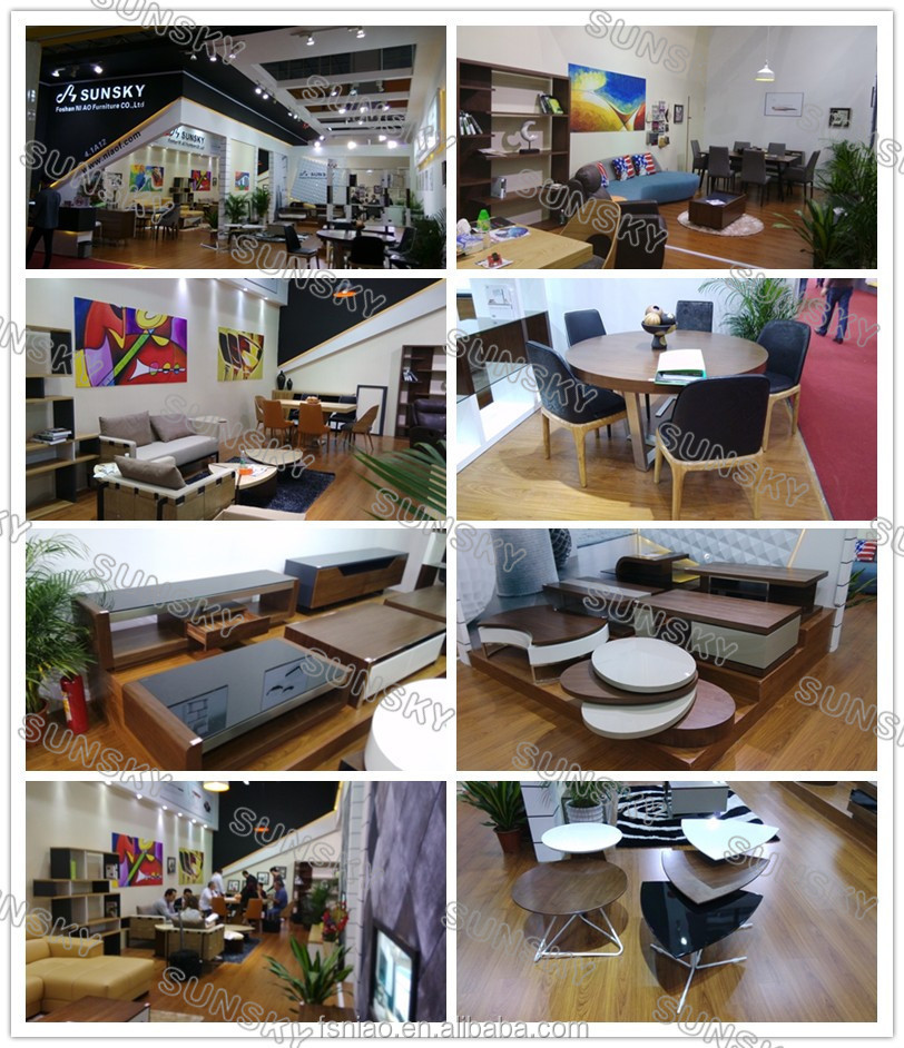 foshan home furniture high quality round wooden top hot selling modern dining table SK1228T