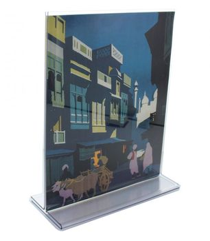 Acrylic picture display stand sign holder acrylic photo frame