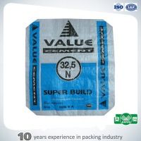 Block bottom valve pp woven 50 kg cement bag price
