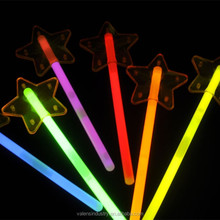 Top Quality Fashion LED Lighted Star Shape Glow in the Dark Wand for Party/Festival/Dance/concert/camping/Bar/Game/Wedding