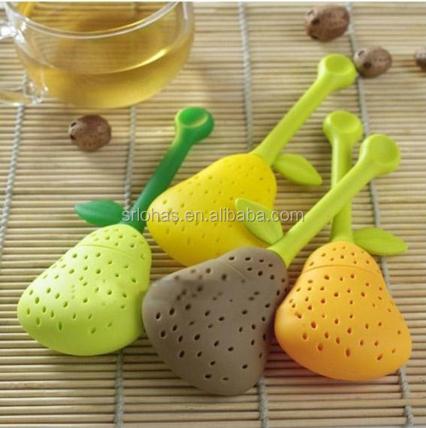 new 2014 hot silicone rubber flower tea infuser