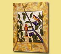 Handmade famous artist abstract painting on canvas