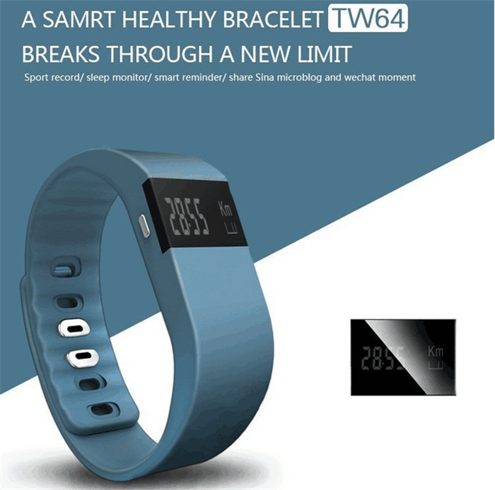 Smart Bracelet Bluetooth Smart Wristbands Smart Watch Waterproof & Passometer & Sleep Tracker Activity