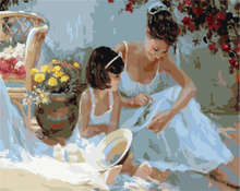 art suppliers oil painting by numbers for gift use GX8124