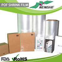 custom plastic POF shrink film used on L-bar sealer