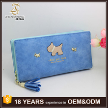 Japanese and Korean Style Fashion Large Capacity PU Leather Women Wallet