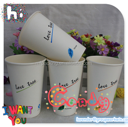 China Manufacture high quality disposable colorful disposable paper cup