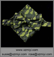woven jacquared camouflage pocket square for men