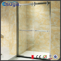 SUYA Chinese new year promote tempered glass frameless shower door, aluminum alloy shower room