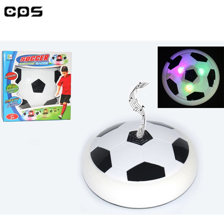 2018 top selling hover ball suspended gliding music soccer toy for indoor world cup promotion