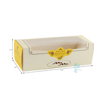 recycled cake window design wax coated paper food box