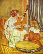 Hand-painted masterpiece reproduction of Renoir Oil Painting